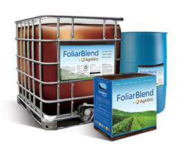 Agri-Gro's Foliar Blend - Box, Drum, Tote