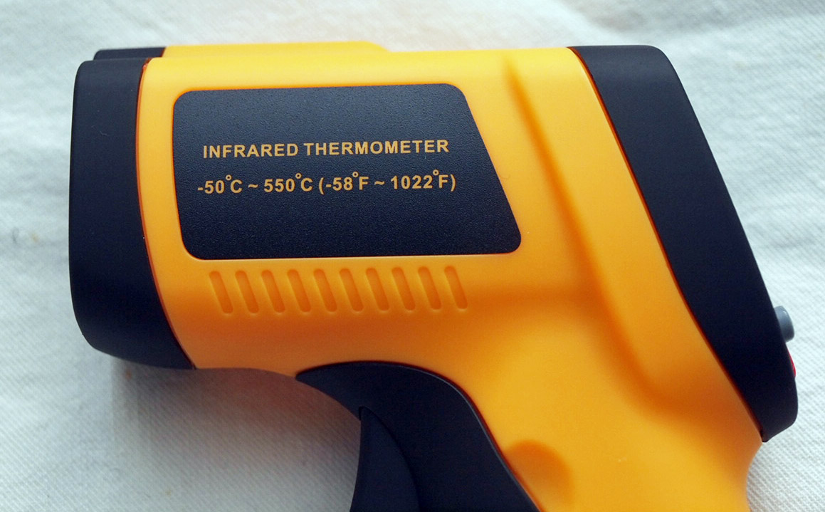 Range of Laser Temperature Gun