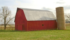 150 Year Old Barn and Silo