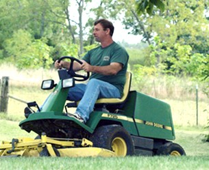 Russ James on His John Deere