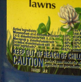 Chemical Herbicide Names