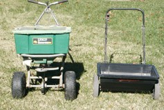 Drop and Rotary Fertilizer Spreaders