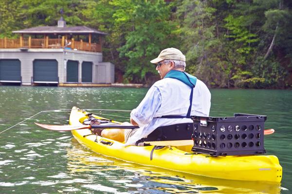 Enjoying a Day of Kayak Fishing