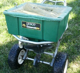 Commercial Rotary Spreader