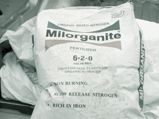 50lb Bag of Milorganite Organic Fertilizer