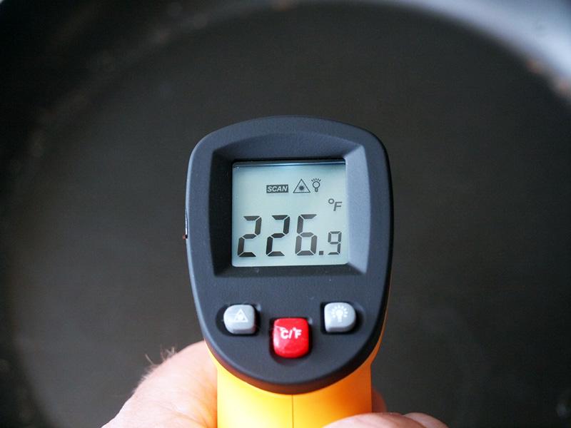 Laser Temperature Gun Screen