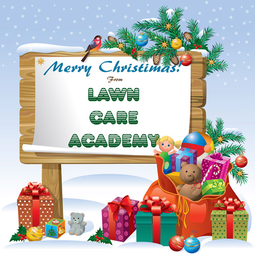 Merry Christmas from Lawn Care Academy
