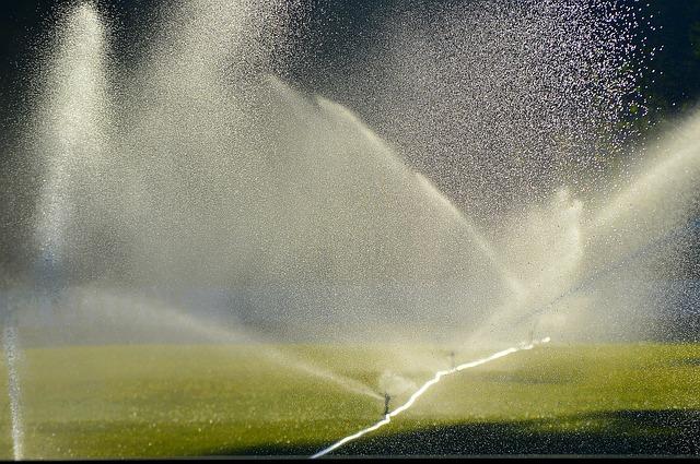 Deep Watering a Sports Field