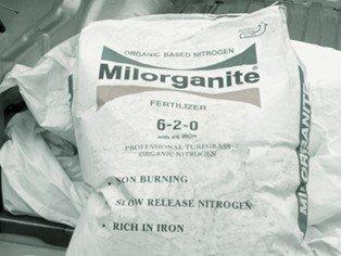 50lb Bag of Milorganite Organic Fertilizer