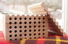 Stackable Wood Trays for Mason Bees